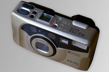 Ricoh RZ-735 camera