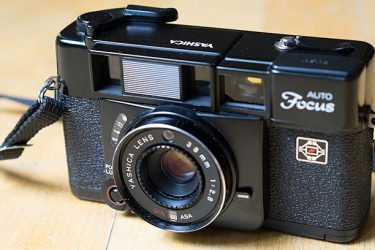 Yashica Auto-focus camera