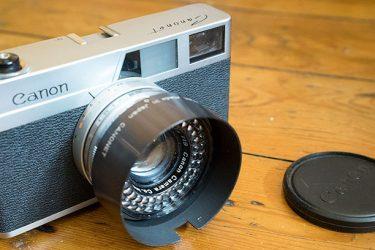 Canon Canonet camera