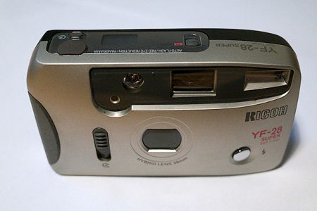 Ricoh Y-28 point and shoot film camera