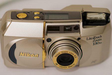 Nikon lite touch camera
