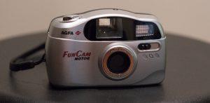 Agfa point and shoot film camera