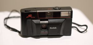 Kodak point and shoot film camera