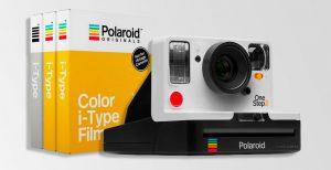 Polaroid Camera and i-Type film cartons