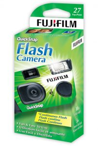 Fujifilm disposable camera box