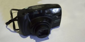 Pentaxt point and shoot film camera